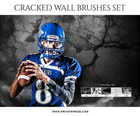 Wall Cracked -Brushes - PrivatePrize Photography Photoshop Templates