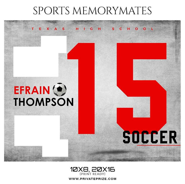 Efrain Thompson - Soccer Sports Enliven Effect Photography Template