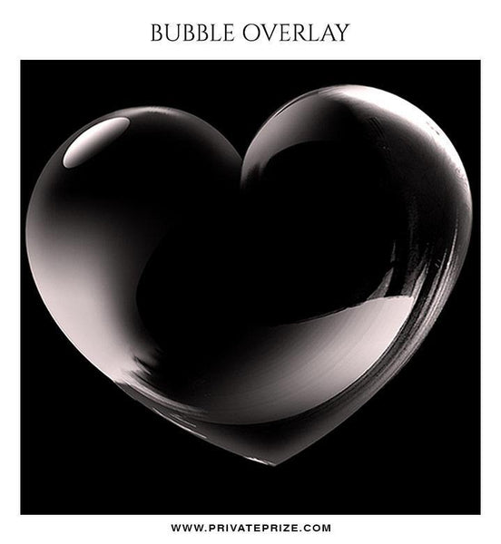 Heart Bubble Effect - Photography templates