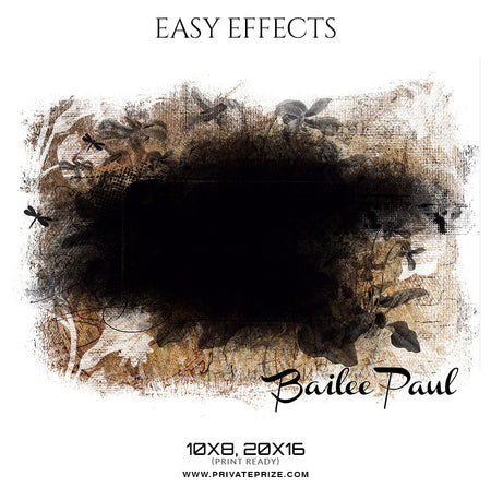 Bailee paul - Easy Effects Kids Photography - Photography Photoshop Template