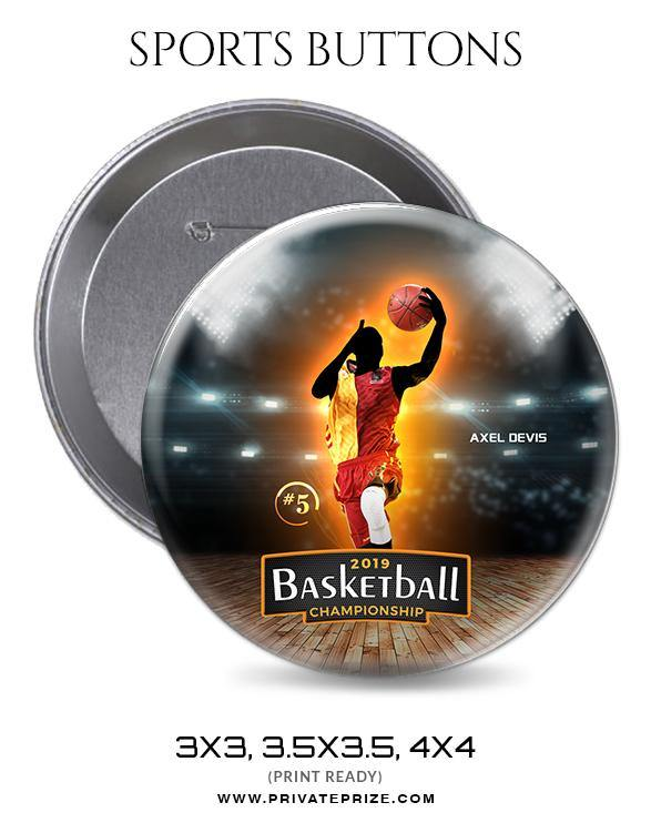 Axel Devis - Basketball Sports Button