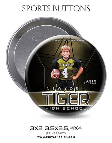 Jorden Nathan - Football Sports Button
