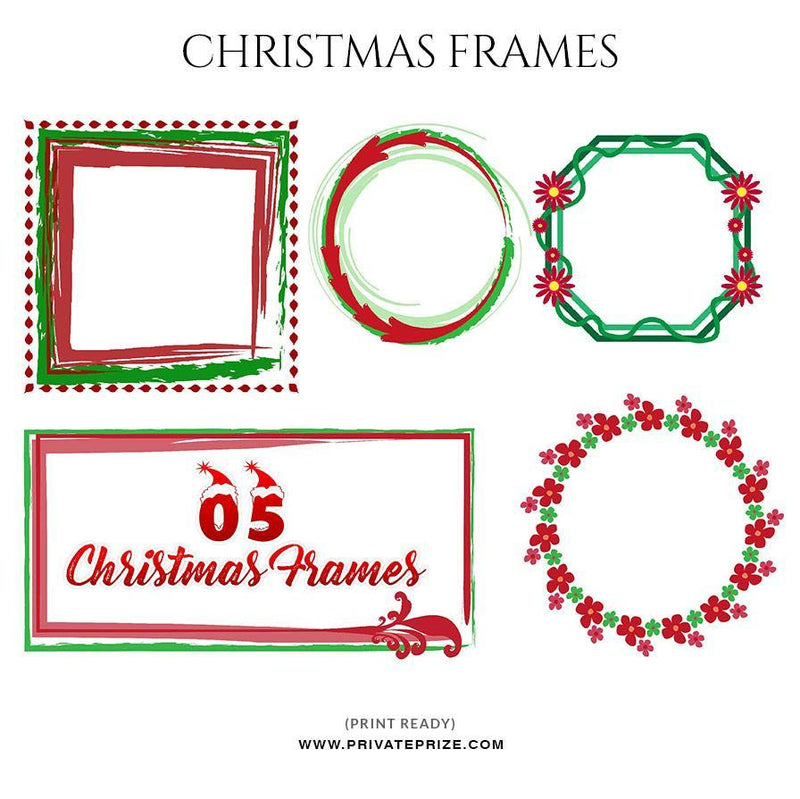 Christmas Frames - Digital Frame