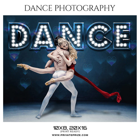 Couple Dance Photography - Enliven Effects Photoshop Template - Photography Photoshop Template