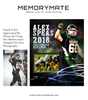 Sports Photography Memory Mates Collage - Photography Photoshop Template