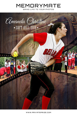 Sports Memory Photography Mates Collage - Photography Photoshop Templates