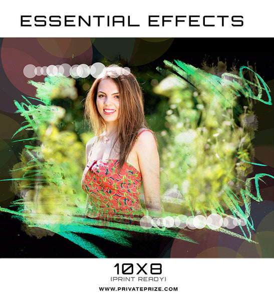 Essential Effects - Abstract - Photography Photoshop Templates
