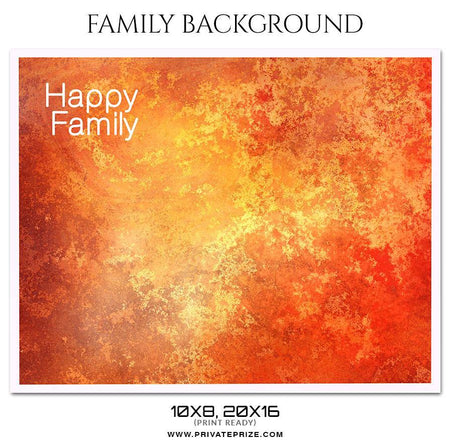 Happy Family - Family Photography - Photography Photoshop Template