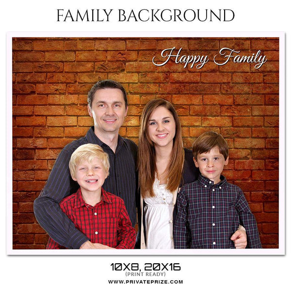 Family Portrait Background - Photography Photoshop Template