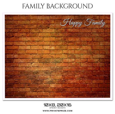 Family Photography - Photography Photoshop Template