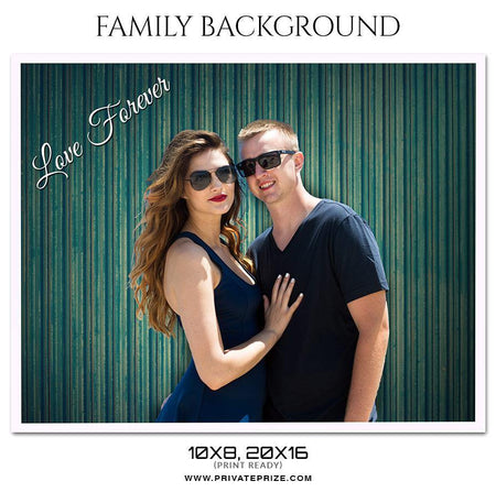 Love forever - Family Photography - Photography Photoshop Template