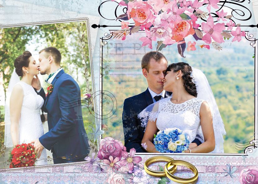 Wedding collage set good things wedding collage set good things photography photoshop templates maxwellsz