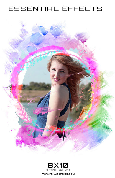 Essential Effects - Tamfloframe - Photography Photoshop Templates