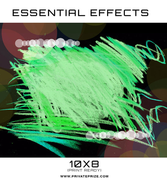 Essential Effects - Abstract - Photography Photoshop Template