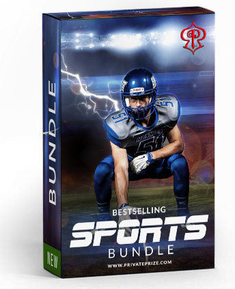 Bestselling Sports Bundle - Photography Photoshop Templates