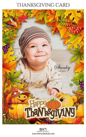 Stanley Noah - Thanksgiving cards