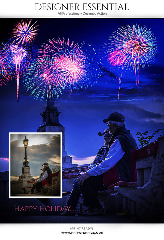 FireWorks- Actions - Photography Photoshop Templates