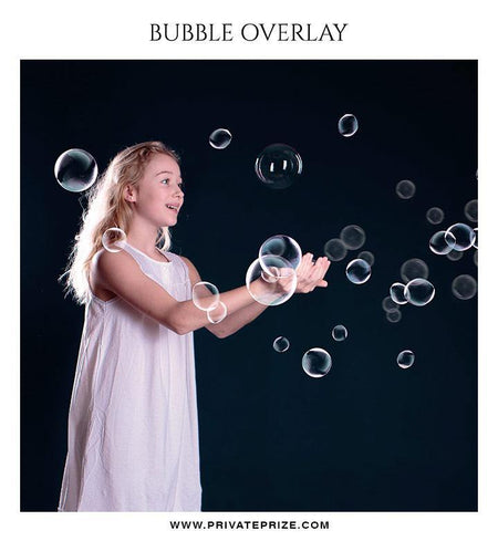 Bubble Effect - Photography templates - Photography Photoshop Template