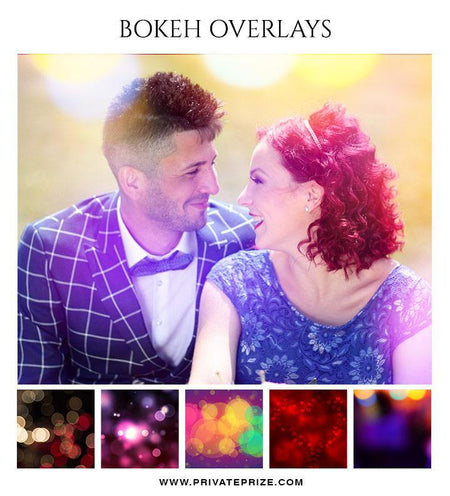 Valentine - Bokeh Overlay Set - Photography Photoshop Template