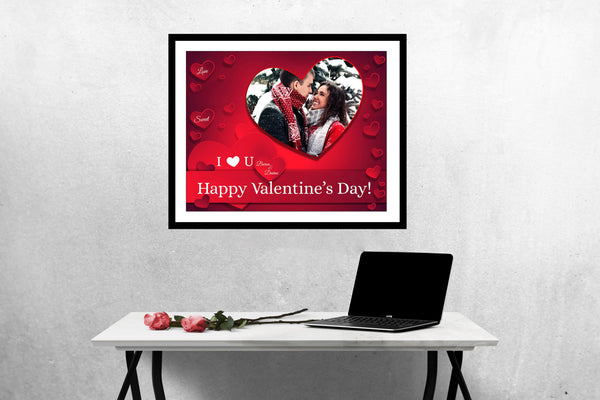 Baron and Davine - Valentine's Designer Frame Templates - Photography Photoshop Template
