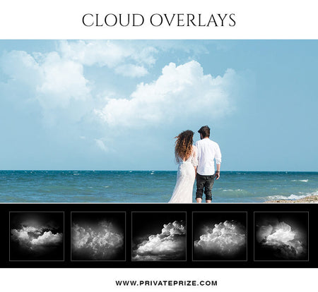 Cloud Overlays - Photography Photoshop Template