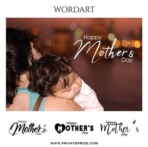 Mother's day - Word Art
