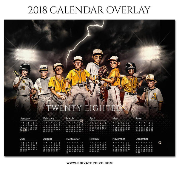 2018 Signature Calendar Overlays