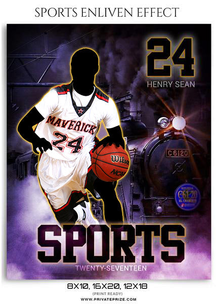 Henry Sean- Sports Photography Template-Enliven Effects