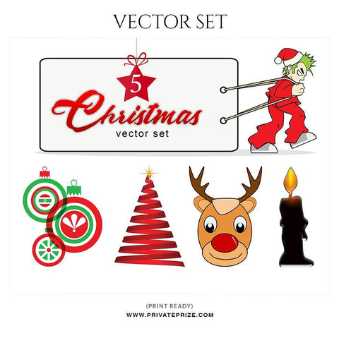 Christmas Vector Graphics Set