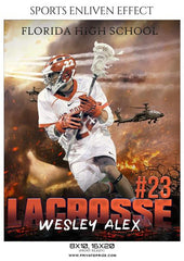 September Lacrosse Bundle Photography Photoshop Template - Photography Photoshop Template