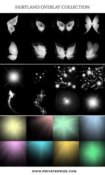 Fairyland Overlay Collection - Photography Photoshop Template