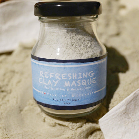 DISCONTINUED: Refreshing Clay Masque - For Sensitive & Normal Skin (75g) - WHILE STOCKS LAST!