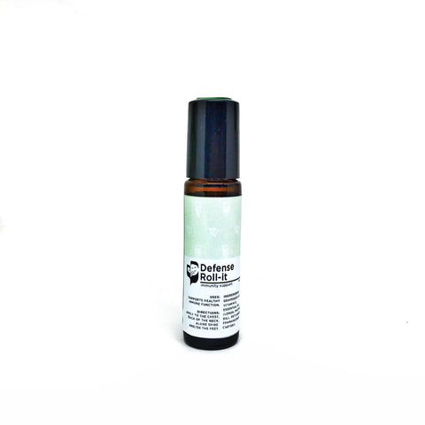 Defense Roll-it (10ml) - Bottle of Wellness | HOMEMADE & NATURAL WELLNESS IN A BOTTLE. NO NASTIES!