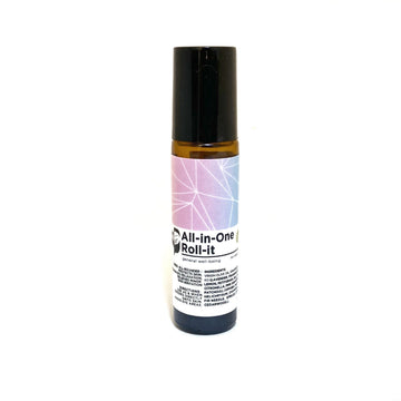 NEW: All-in-One Roll-it (10ml) - Bottle of Wellness | HOMEMADE & NATURAL WELLNESS IN A BOTTLE. NO NASTIES!