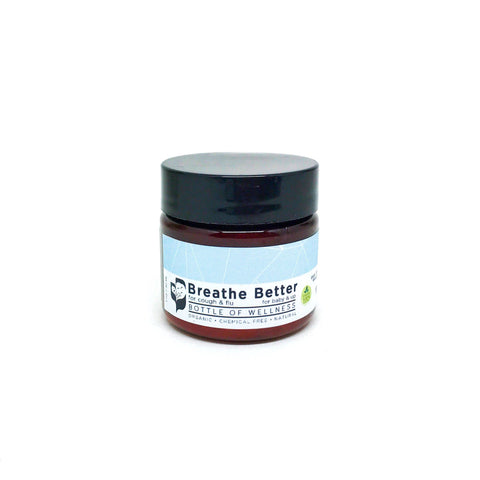 NEW: Breathe Better Balm  (15ml, 30ml, 60ml, 120ml) - Bottle of Wellness | HOMEMADE & NATURAL WELLNESS IN A BOTTLE. NO NASTIES!