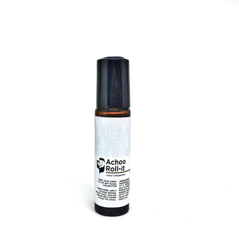 Achoo Roll-it (10ml) - Bottle of Wellness | HOMEMADE & NATURAL WELLNESS IN A BOTTLE. NO NASTIES!