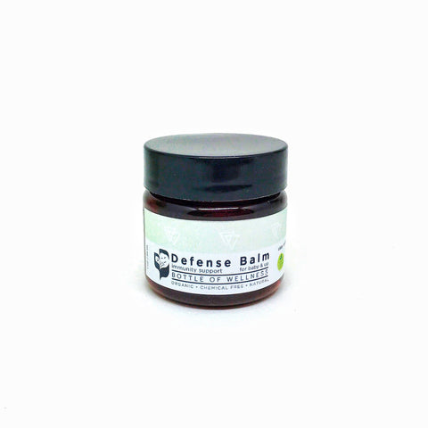 NEW: Defense Balm  (15ml, 30ml, 60ml, 120ml) - Bottle of Wellness | HOMEMADE & NATURAL WELLNESS IN A BOTTLE. NO NASTIES!