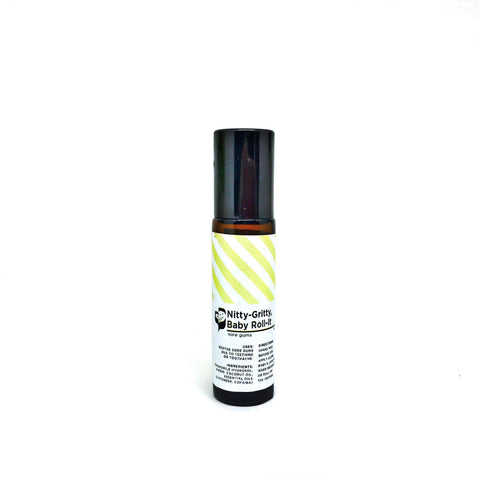 Nitty-Gritty, Baby Roll-it (10ml) - Bottle of Wellness | HOMEMADE & NATURAL WELLNESS IN A BOTTLE. NO NASTIES!