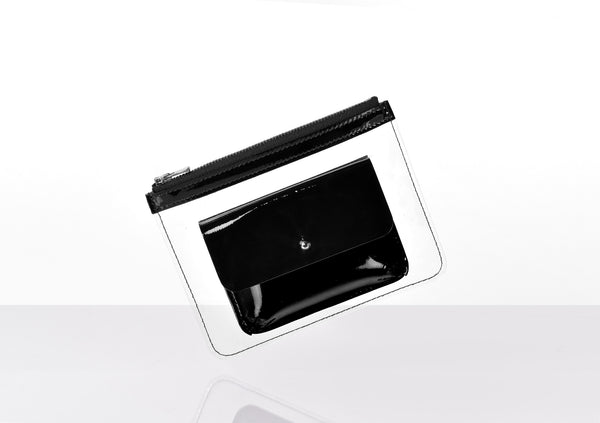 Barnett Wallet black patent leather