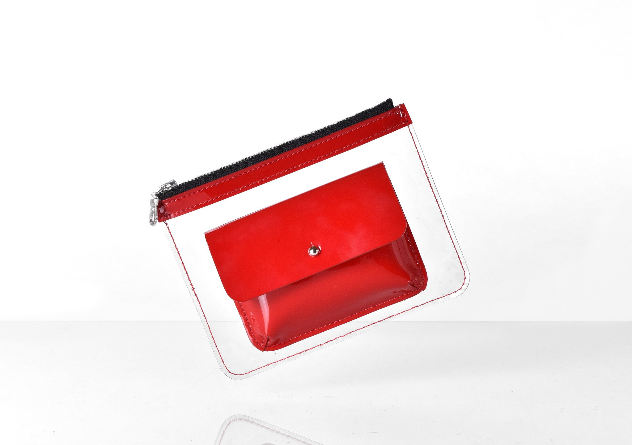 Barnett Wallet red patent leather