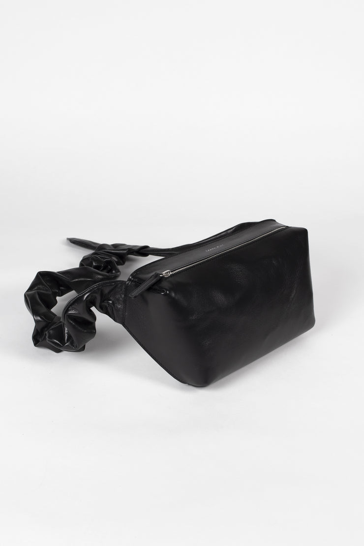 Waist bag in black