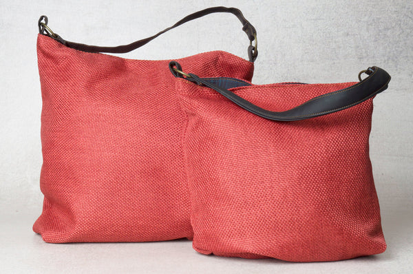 The May Bag- Light Red Shoulder Bag