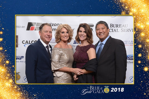 Blue & Gold Gala photos and Bryce Cluff's speech