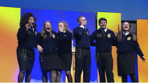 National FFA Officer Team Elected at 90th National FFA Convention & Expo