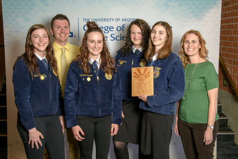 Basha FFA wins state landscape / nursery competition