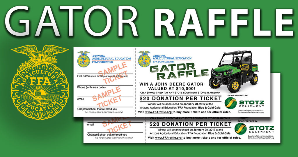 Gator Raffle Official Rules