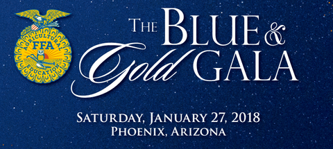 Blue and Gold Gala Arizona FFA