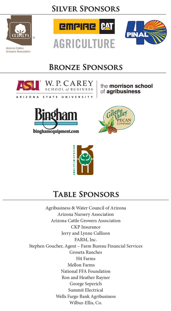 Blue and Gold Gala Sponsors
