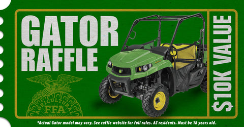 Gator Raffle Ticket 2019