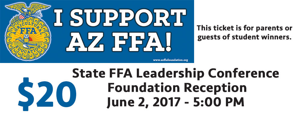 Tickets for Foundation Donor Reception (donors see below for your comp ticket)